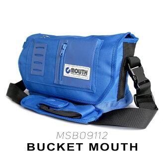 MOUTH BUCKET MOUTH ミニ ショルダーバッグ マウス バケットマウス MSB09012 BLUE【カメラバッグ 一眼レフ 女子 おしゃれ ミニ ショルダー バッグ ボディバッグ】[fs01gm]