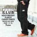【送料299円】 PRO CLUB プロクラブ スウェットパンツ メンズ 裏起毛 パンツ メンズ スウェットパンツ 大きいサイズ メンズ パンツ ブラック グレー ネイビー XXL LL (USAモデル)