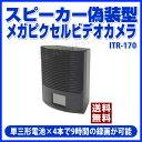 【全商品送料無料】【ポイント5倍】アイ・ティー・エス スピーカー偽装型メガピクセルビデオカメラ - ITR-170