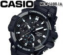 CASIO カシオ クオーツ 腕時計 100m防水 メンズ レディース MCW-110H-1A おすすめ アナデジ クロノグラフ チプカシ プレゼント アウトドア スポーツ