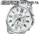 送料無料 カシオ CASIO 腕時計 エディフィス EDIFICE メンズ 100m防水 カレンダー クオーツ ブラック efv-500d-7 おすすめ 人気 モデル おすすめ クロノグラフ 日付カレンダー