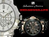 ランキング人気商品サルバトーレマーラ腕時計 SalvatoreMarra時計 Salvatore Marra 腕時計 サルバトーレ マーラ 時計 メンズ/シルバー ゴールドブラック SM7019 [アナログ おしゃれ ブラック][ブランド 人気 新作 通販][送料無料][プレゼント/ギフト/祝い]