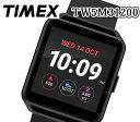 あす楽 送料無料 TIMEX タイメックス 腕時計 ブラック スクエア スマートウォッチ クオーツ ...