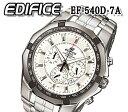 送料無料 カシオ CASIO 腕時計 エディフィス EDIFICE メンズ 10気圧防水 カレンダー クオーツ クロノグラフ EF-540D-7A おすすめ 人気 モデル アナログ プレゼント ウォッチ