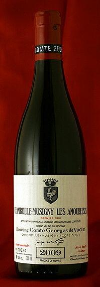 シャンボール・ミュジニー・レザムルーズ[2010]Chambolle Musigny Les Amoureuses 750mlComtes Georges de Vogueフランス ブルゴーニュ ワイン 赤