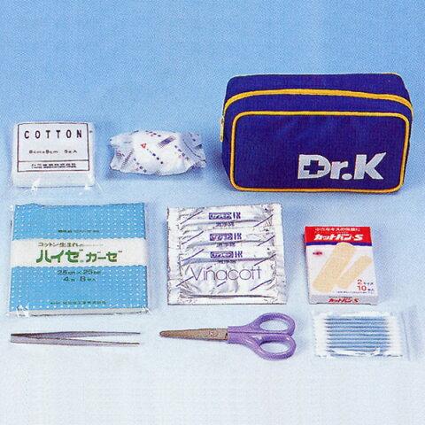 救急セットDr.Kドクターケー(ベルトポーチ型)(防災用品 防災グッズ 持ち運び 収納 登山 アウトドア)