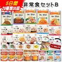 非常食 セットB 5日間29種類30品(アルファ米 パンの缶...