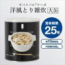 サバイバルフーズ (大缶)洋風とり雑炊 約10食相当量(永谷...