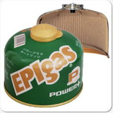 EPIgas 230パワープラスカートリッジ(G-7009)(防災グッズ/調理器具/食器/キャンプ/防災セット/鍋/コッヘル/皿/ストーブ/バーナー/非常用持ち出し袋/女性/子供/