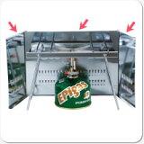 EPIgas 風防 ウインドスクリーン(A-6502)(防災グッズ/調理器具/食器/キャンプ/防災セット/鍋/コッヘル/皿/ストーブ/バーナー/非常用持ち出し袋/家族/女性/子供/