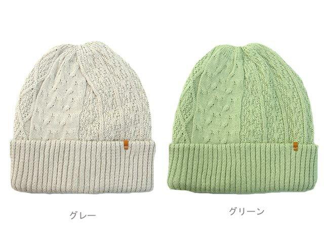 サマーニット帽 キャップ コットン リネン 綿...の紹介画像3