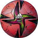 adidas/アディダス AFF331R フットサル ボール 検定球 コネクト21 フットサル 3号球 アカ
