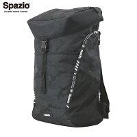 SPAZIO/スパッツィオ BG-0101 02 ブラック カモフラージュバックパック バッグ【ラッキーシール対応】の画像