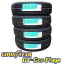グッドイヤー2019年製造 新品/正規品GT-Eco Stage (エコステージ)165/55R14 72V 4本セット低燃費サマータイヤ送料無料(沖縄/離島除く)