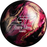 (ABS) ボウリングボール シュアラインハード ブラック 【スペアボール】