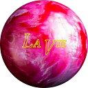 (ABS) ボウリングボール ラヴィ(LA VIE) レッド