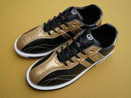 (デクスター) ボウリングシューズ Ds38 ブラック・ゴールド 【ボウリング用品 靴】