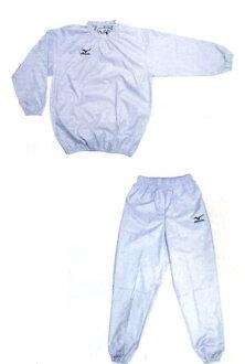 현재 미즈노 체중 입고 (당 점 오리지날 사우나 슈트 화이트/일본 제작) 다이어트 복싱 용품