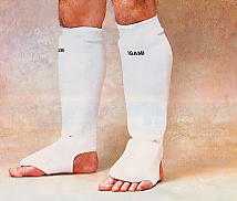 Isami total leg guard (for both legs)