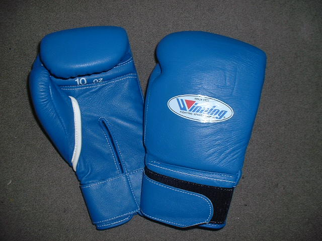 WINNING 10oz trainning gloves with Velcro