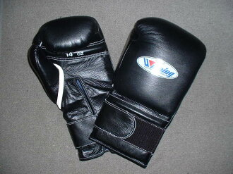 winning gloves  WINNING 14 oz. boxing gloves with velcro closure(professional type)