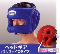 WINNING Head Gear full-face type For professional use