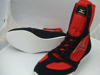 America-ya 2010 Mizuno boxing shoes (red x black line ) original shoe bag