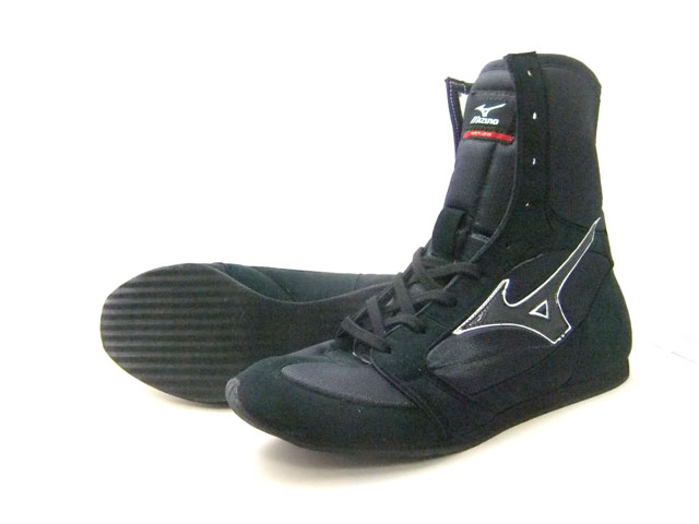 America-ya 2010 Mizuno boxing shoes (black x black line ) original shoe bag