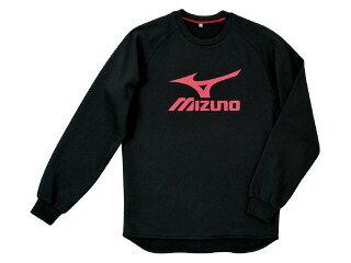 Mizuno sweat shirt black x red trainers