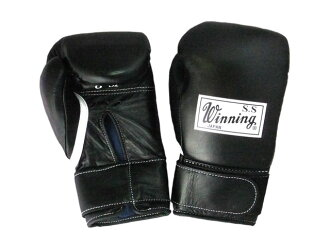 Winning 8-ounce gloves Velcro black America-ya original color