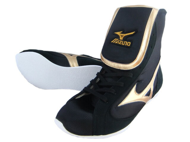 Only Mizuno before wrapping reinforcement type boxing shoes black x Gold