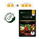 【30%ポイントバック】ベジーアップ 酵素粒 124粒 送料...