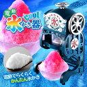 【送料無料!】本格的なふわふわ氷!DCSP-1651【ドウシシャ 電動本格ふわふわ氷かき器 DCSP-1651(製氷カップ2個付き)】カキ氷機、かき氷機、かきごおり器