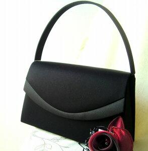 【送料無料・代引き手数料無料】日本製 無地素材 高級素材 ブラックフォーマル バッグ 礼服 女性 フォーマルバック ブラックフォーマル 卒業式 お葬式 冠婚葬祭