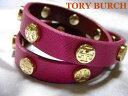 TORY BURCH トリーバーチレザー 革 ブレスレット国内正規品 ケース付き