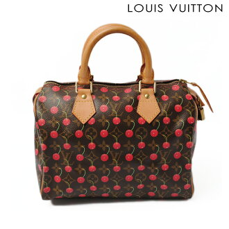 LOUIS VUITTON Louis Vuitton handbag monogram cherry speedy M95009 [used] [smtb-TK]