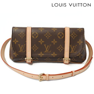 LOUIS VUITTON Louis Vuitton body bag / waist porch / clutch bag 2way モノグラムポシェットマレル M51159 [used]