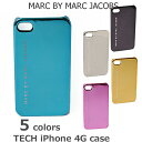 iPhoneケース/アイフォンケース 4 対応 MARC BY MARC JACOBS マークバイマークジェイコブス  メタリック M3111625