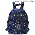 マークバイマークジェイコブス リュックサック/バックパック MARC BY MARC JACOBS IDホルダー付 BLUE DEPTHS MULTI/ブルー M0005546