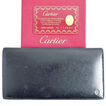 Cartierカルティエパシャライン財布【中古】
