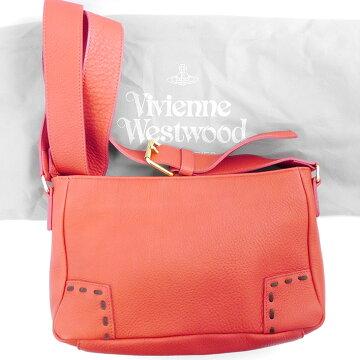 VivienneWestwoodヴィヴィアン・ウエストウッドパンチングステッチショルダーバッグショルダーバッグ4349262-2-F【中古】