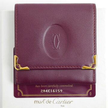 CartierカルティエマストラインコインケースL3000464【中古】