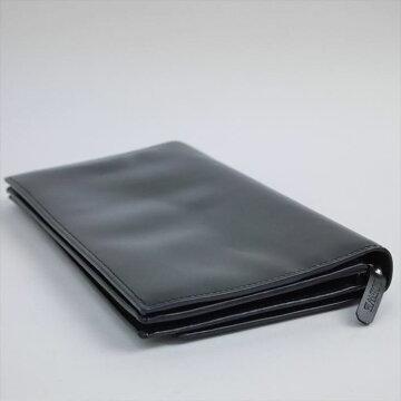 LOEWEロエベ着脱式ショルダーストラップ付きウォレット財布