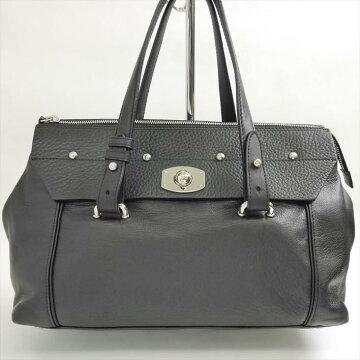 FURLAフルラデザインターンロックハンドバッグ