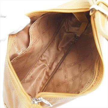 Longchampロンシャンレザーミニショルダーバッグ【中古】