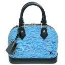 【価格見直し値下げ】ルイヴィトン ハンドバッグ アルマ BB エピデニム M41437 カラー ブルー×ブラック ブランド LOUIS VUITTON 送料無料 中古