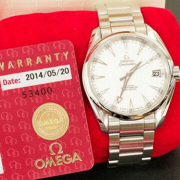 オメガOMEGAシーマスターアクアテラ腕時計中古