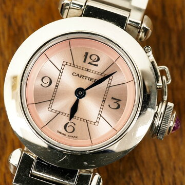カルティエCartierミスパシャ腕時計中古
