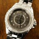 【10/23までポイント3倍】シャネル CHANEL J12クロマティック ダイヤベゼル 腕時計 中古