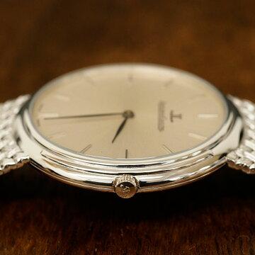 ジャガールクルトJAEGERLECOULTREアンティーク腕時計中古